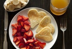 panquecas em forma de coração namorada criativa por chaiene morais
