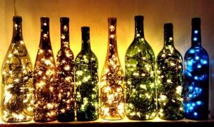Luminária romântica no estilo natalino