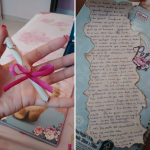 Carta na garrafinha