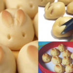 Pão de Cenoura – Formato Coelhinho
