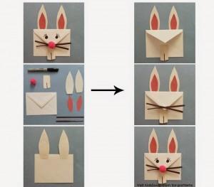 Como fazer um envelope divertido para deixar recadinhos na Páscoa!