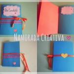 Amor a distância: Caderninho Que saudade!