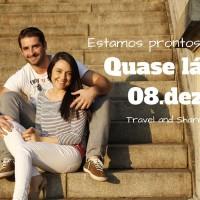 Casal brasileiro busca mudar radicalmente seus estilos de vida com um mochilão pelo mundo