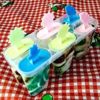 "Picolé de gelatinas ""Frozen"""