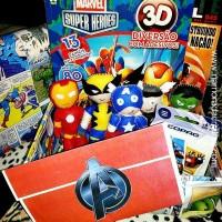 Presente para namorado fã dos heróis Marvel