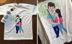 """Sorteio Ilustração e Camiseta """"Eu Rabisco"""""""