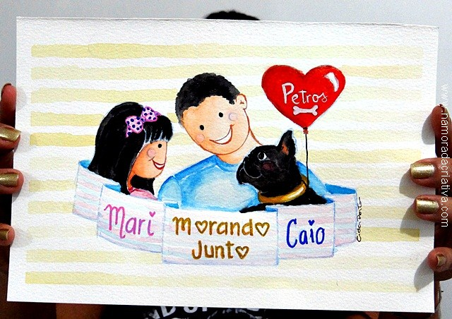 Um sorteio imperdível: Ilustração Cida Porto Arts