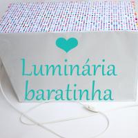 DIY: Luminária por menos de R$20
