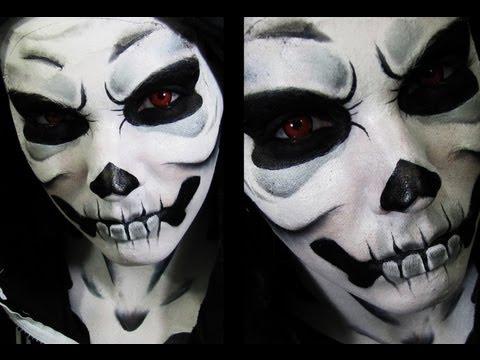 Skull Face Paint Tumblr