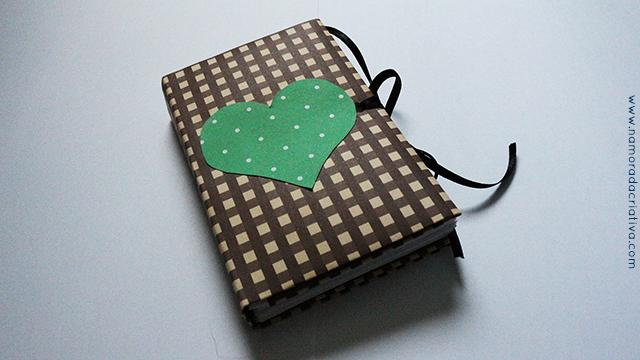 Caderninho de origami e alfabeto do amor
