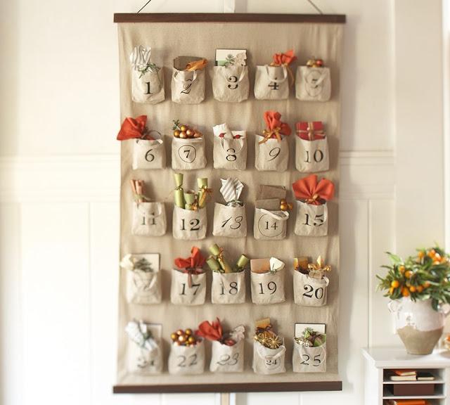 Homemade Advent Calendar Ideas For Boyfriend : Contagem regressiva para o natal calendário do advento