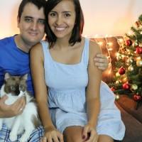 Nossa primeira árvore de Natal
