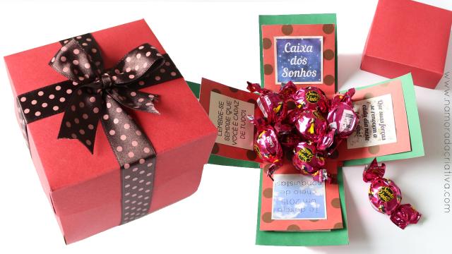 Caixa dos Sonhos – Presentinho para amigos e familiares no Natal