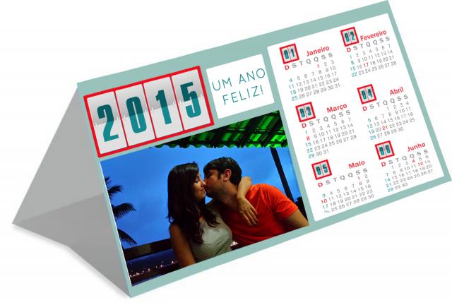 5 modelos masculinos de calendário 2015 personalizado
