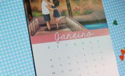 Calendário 2015 Namorada Criativa