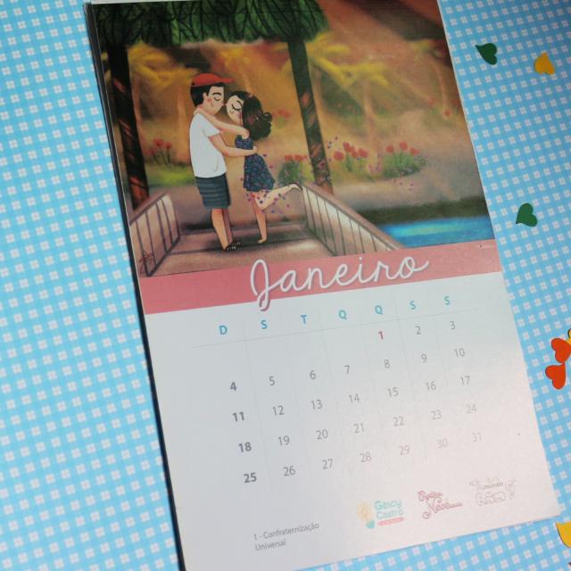 Calendário 2015 Ilustrado