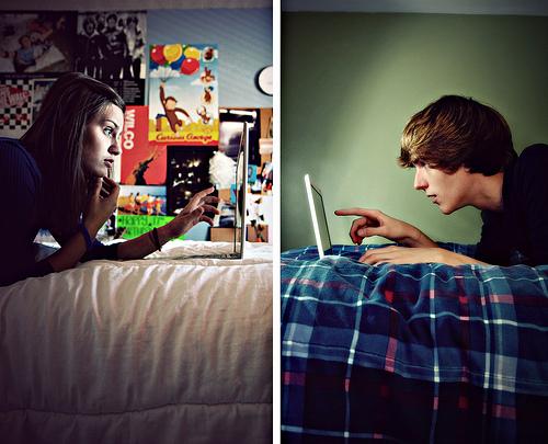 A vontade de um relacionamento a distância