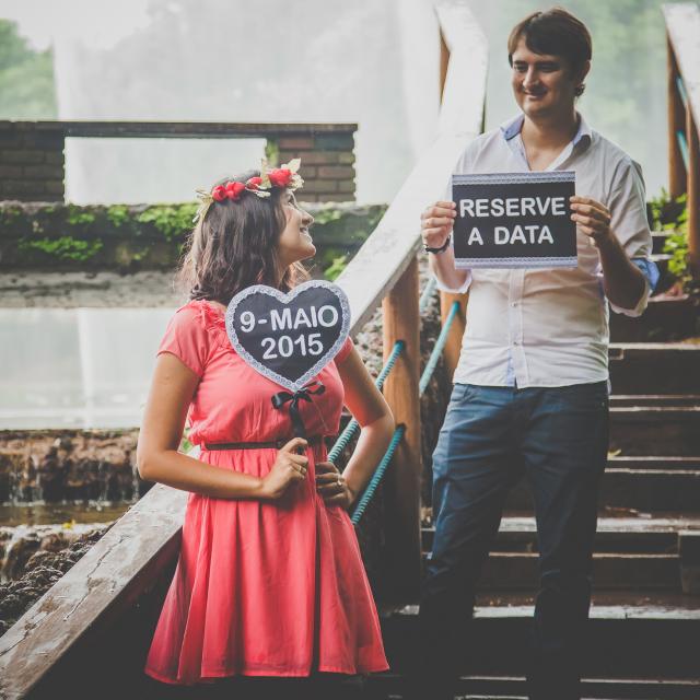 Meu ensaio pré-casamento – Save the Date