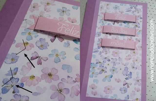 DIY Cartão dia das Mães - Blog Namorada Criativa - Passo12