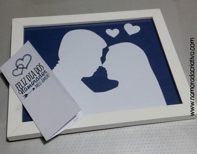 DIY Dia dos Namorados - Quadrinho - A1
