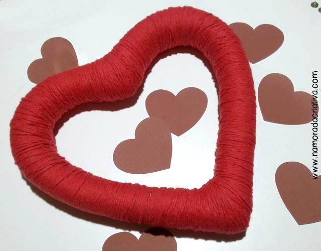 DIYs, Dicas e Inspirações Supresas Namorados - DIY Coração com barbante - 06