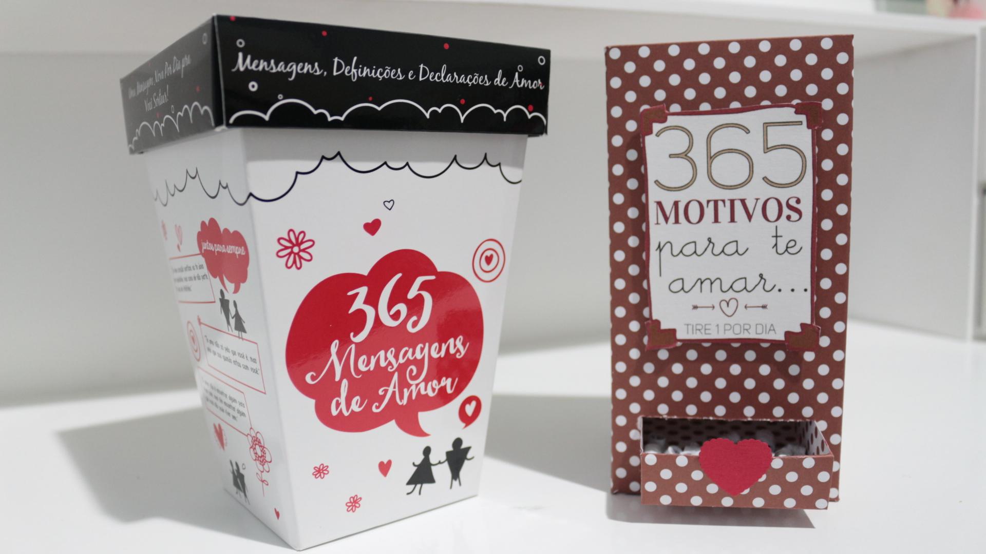 Muitas vezes 365 Mensagens de Amor e Caixa 365 Motivos | Namorada Criativa  BT12
