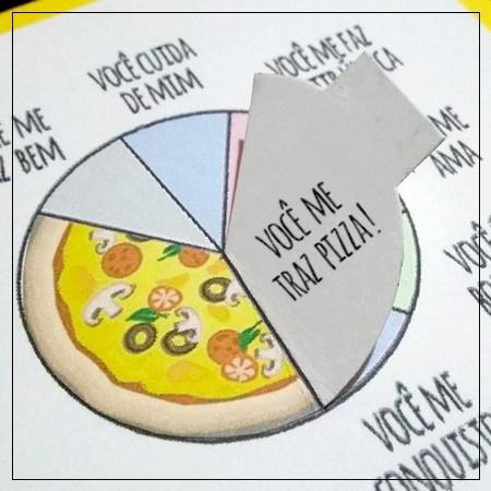 DIY: Cartãozinho Divertido para os Amantes de Pizza