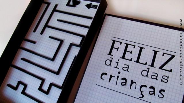 DIY: Joguinho romântico para o dia das crianças