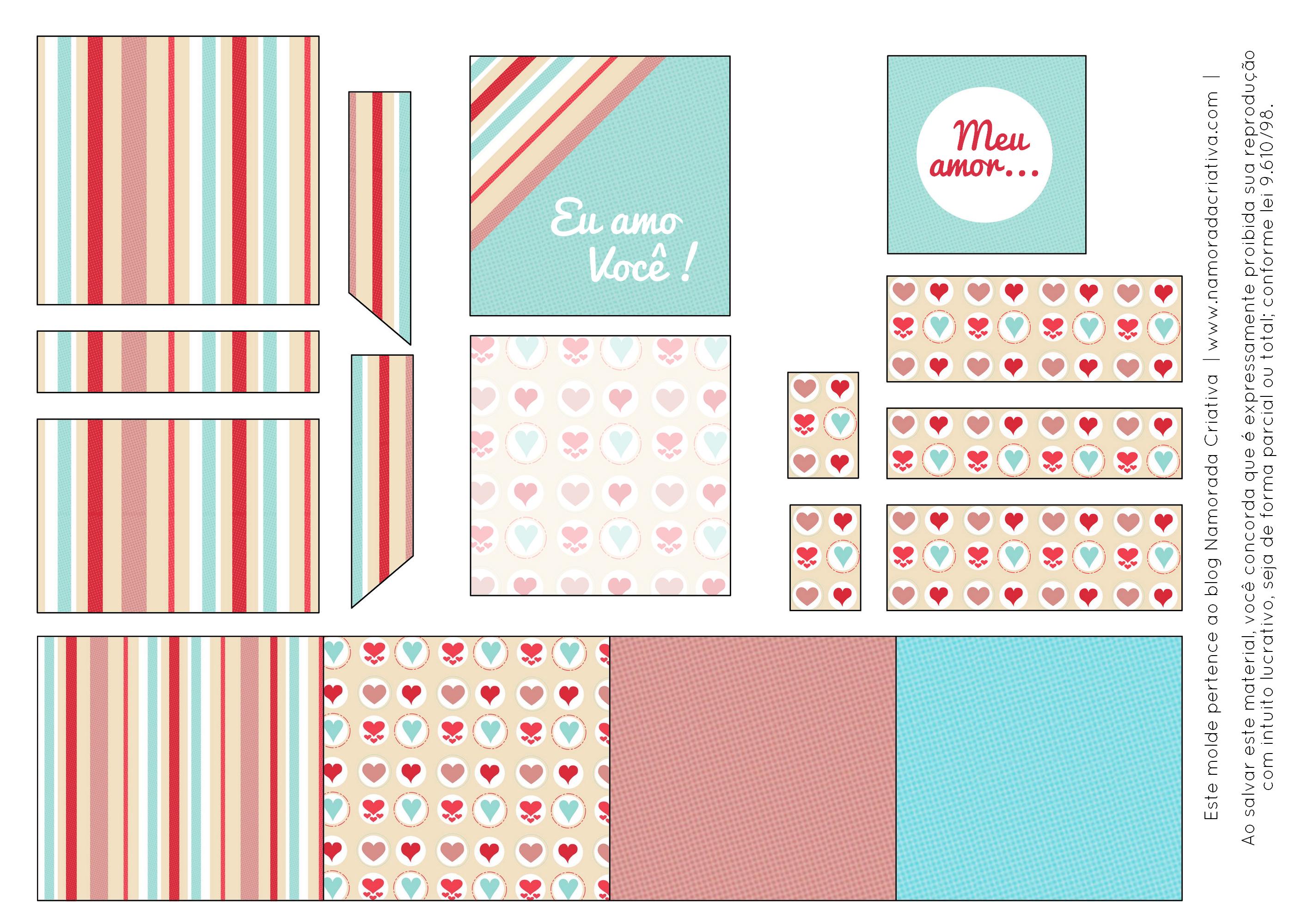 DIY: Mini caixinha de batons de chocolate | Namorada Criativa - Por