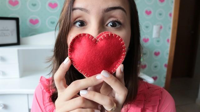 DIY: Mini caderno em formato de coração