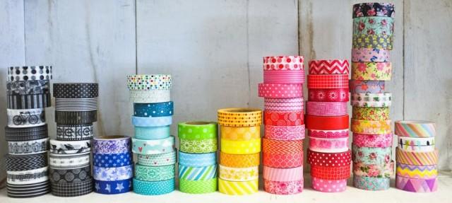 Como fazer Washi Tapes (fitas adesivas decoradas)