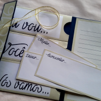 DIY: Cartão para o Ano Novo