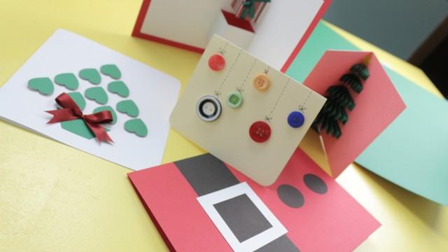 DIY: Cartões de Natal [Simples e Fáceis]