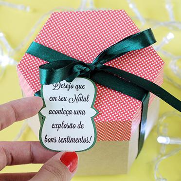 [DIY: Caixa explosiva] Natal com explosão de bons sentimentos!