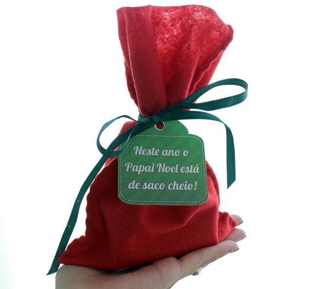 DIY: Papai Noel de Saco Cheio (mas só de coisas boas!)