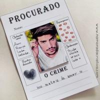 """DIY: Cartão """"O procurado"""""""