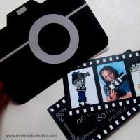 DIY: Cartão para o dia do fotógrafo