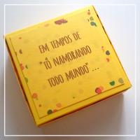 """DIY de Carnaval – Caixinha """"tô namorando todo mundo"""""""