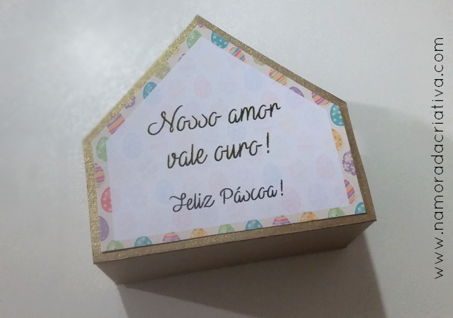 DIY PÁSCOA - NOSSO AMOR VALE OURO - BLOG NAMORADA CRIATIVA - 11