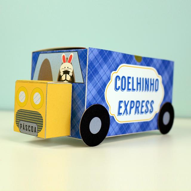 Amigo Chocolate DIY – Coelhinho Express