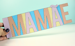DIY: Mini Álbum para o Dia das Mães