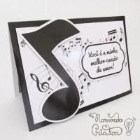 DIY: Cartão Pop Up Canção de amor