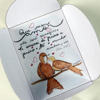 Cartãozinho aquarelado