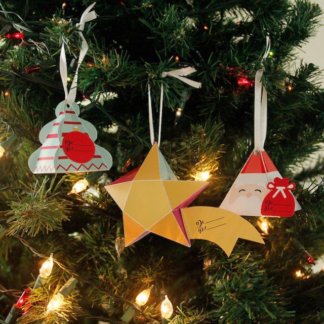 DIY: Caixinha de presente para pendurar na árvore de Natal
