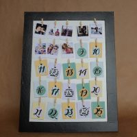 DIY: Calendário do Advento – Memórias Fotográficas