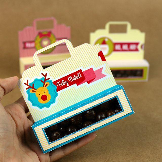 DIY: Lembrancinha Cartão com Guloseima de Natal
