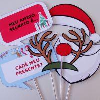 Plaquinhas de Natal para imprimir