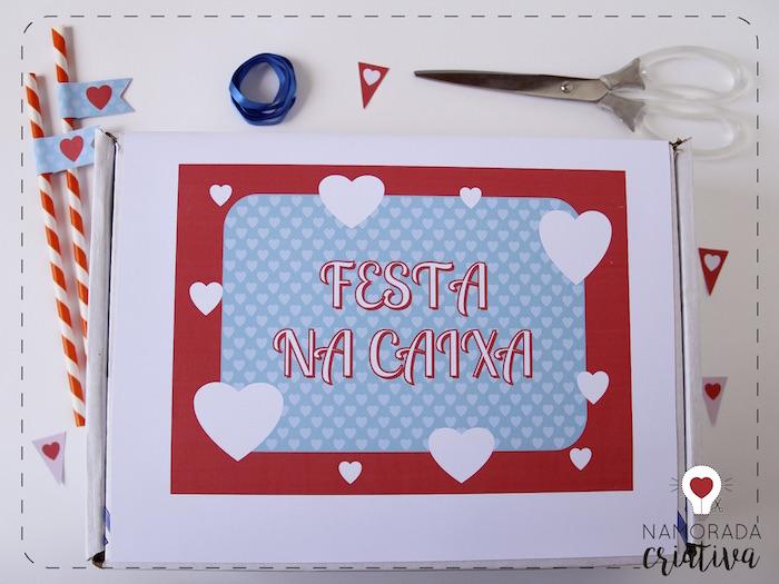 Festa Na Caixa Para Aniversário De Namoro Namorada Criativa Por