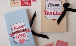 DIY: Mini Álbum de Recordações para Aniversário de Namoro