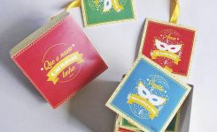 """DIY: Caixa/cartão """"Carnaval do Amor"""""""